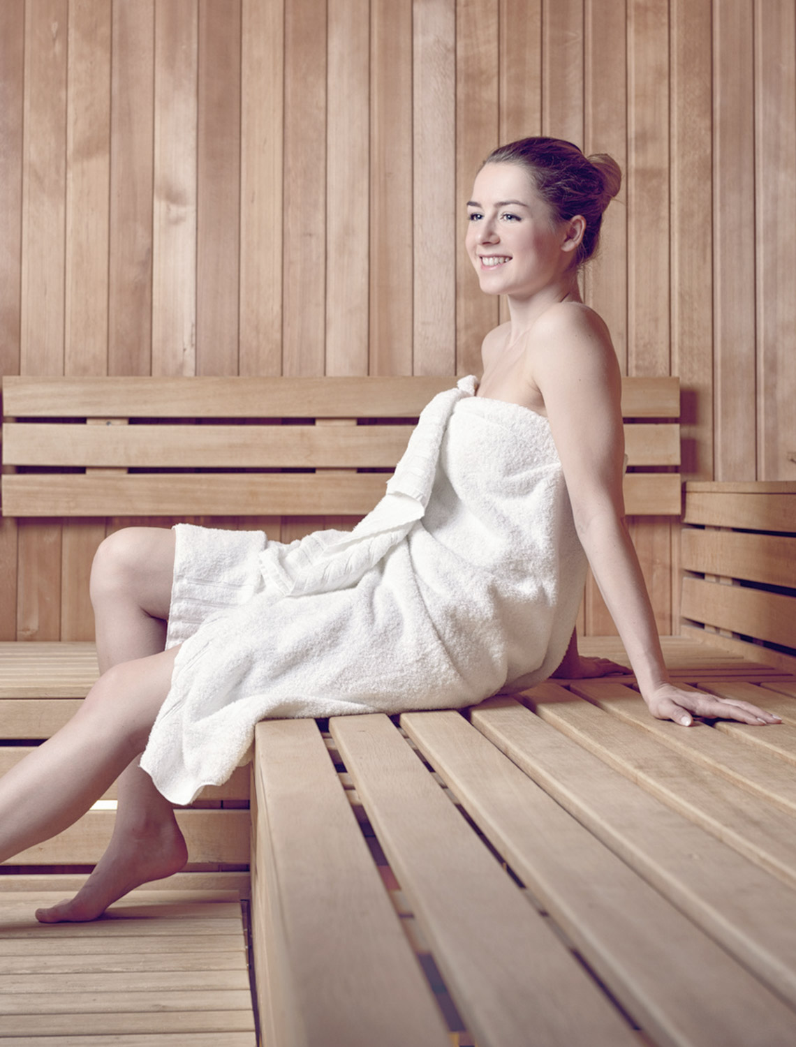 Sauna in the spa - recover and relax